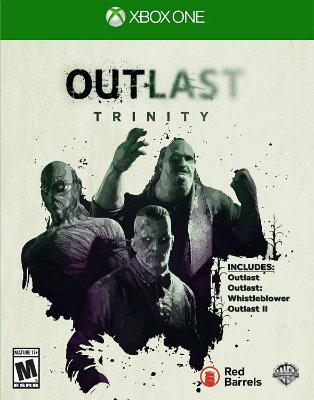 Outlast Trinity Xbox One MIDIA FISICA