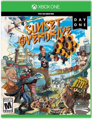 Sunset Overdrive Xbox One Mídia Física