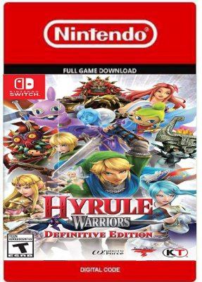 Hyrule Warriors Definitive Edition Nintendo Switch