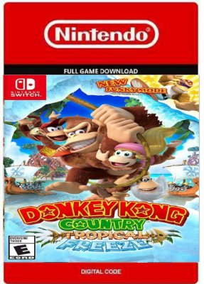 Donkey Kong Tropic Freeze Nintendo Switch