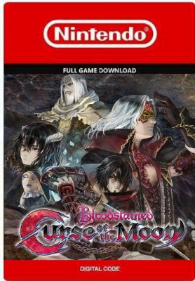 Bloodstained Curse of the Moon Nintendo Switch