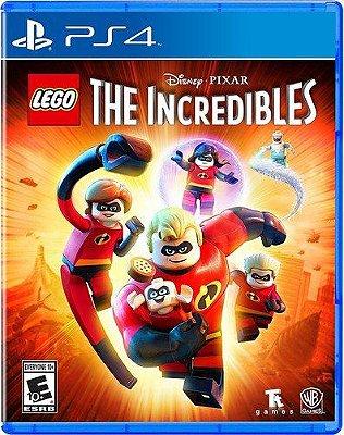 Lego Os Incriveis PS4 Midia Fisica