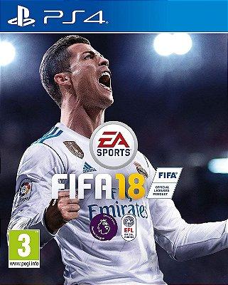 Fifa 18 PS4 MIDIA FISICA