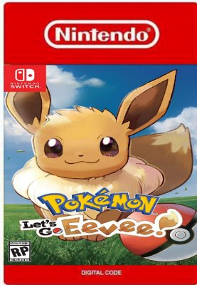 Pokémon Lets Go Eevee! Nintendo Switch