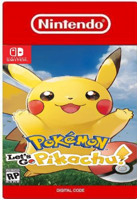 Pokémon Lets Go Pikachu! Nintendo Switch