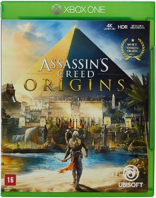 Assassins Creed Origins Xbox One MIDIA FISICA