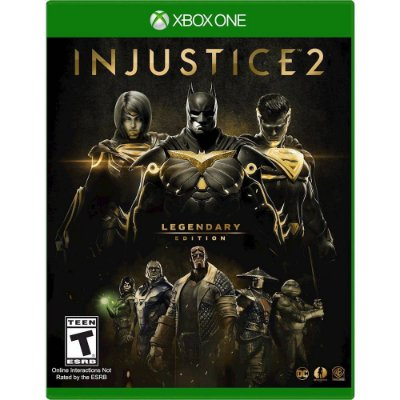 Injustice 2 Edição Lendária Xbox One MIDIA FISICA