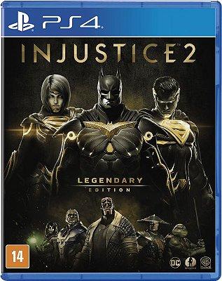 Injustice 2 Edição Lendária PS4 MIDIA FISICA
