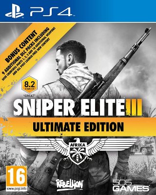 Sniper Elite 3 Ultimate Edition PS4 MÍDIA FISICA