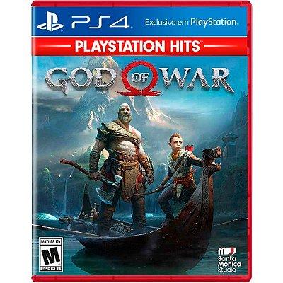 God of War PS4 MIDIA FISICA