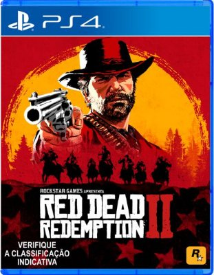Red Dead Redemption 2 Ps4 MIDIA FISICA