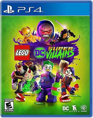 LEGO DC Super Vilões PS4 Midia Fisica
