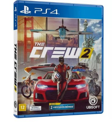 The Crew 2 PS4 MIDIA FISICA