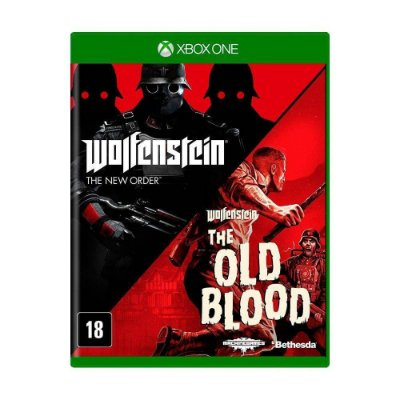 Wolfenstein The Two Pack Xbox One Disco Fisico
