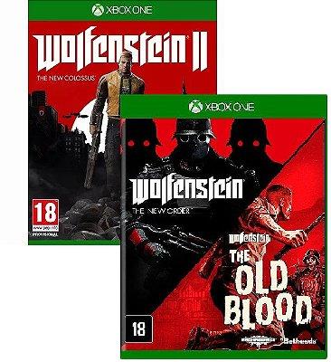 Kit Bethesda Wolfenstein Xbox One Midia FIsica