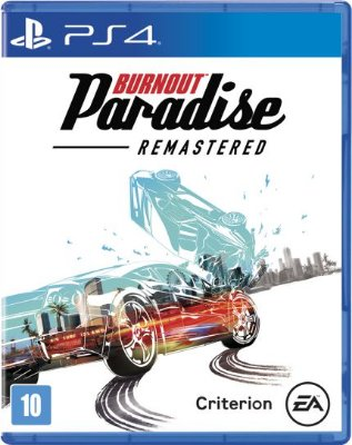 Burnout Paradise Remastered PS4 MIDIA FISICA