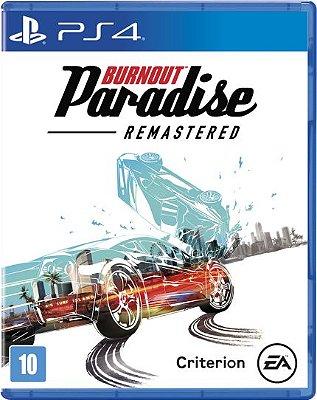 Burnout Paradise Remastered PS4 MIDIA FISICA