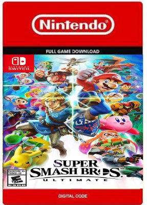 Super Smash Bros Ultimate Nintendo Switch
