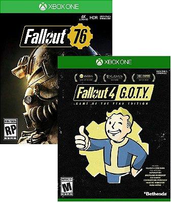 Kit Bethesda Fallout Xbox One MIDIA FISICA