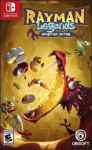 Rayman Legends Definitive Edition Nintendo Switch MIDIA FISICA