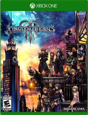 Kingdom Hearts 3 Xbox One MIDIA FISICA