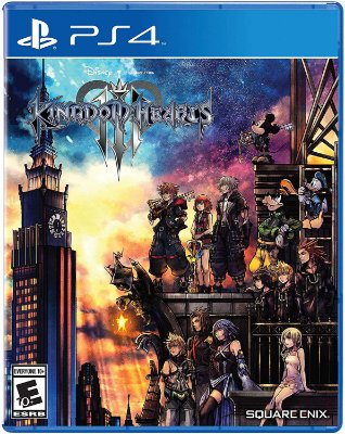 Kingdom Hearts 3 PS4 MIDIA FISICA