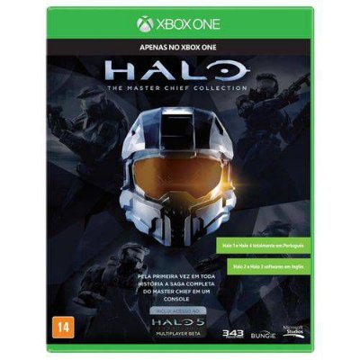 Halo Master Chief Collection Xbox One MIDIA FISICA