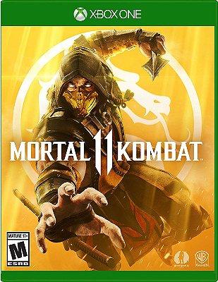 Mortal Kombat 11 Xbox One MIDIA FISICA
