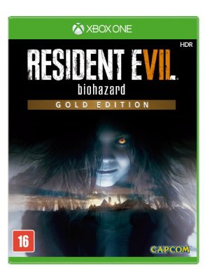 Resident Evil 7 Gold Edition Xbox One MIDIA FISICA