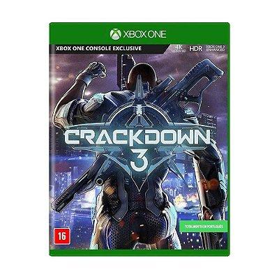 Crackdown 3 Xbox One MIDIA FISICA
