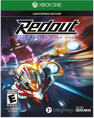 Redout Lightspeed Edition Xbox One MIDIA FISICA