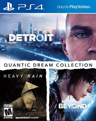 Kit Detroit, Heavy Rain e Beyond Two Souls PS4 Midia Fisica