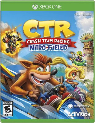 Crash Team Racing Nitro Fueled Xbox One MIDIA FISICA