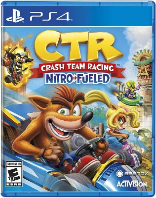 Crash Team Racing Nitro Fueled Ps4 MIDIA FISICA