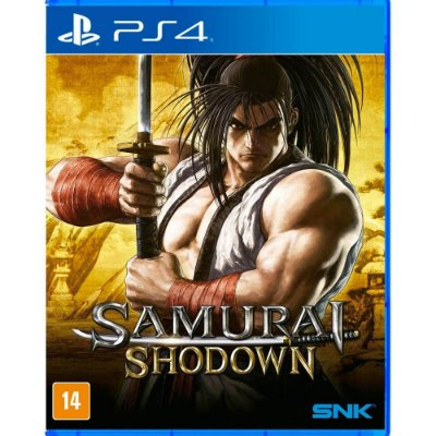 Samurai Shodown PS4 MIDIA FISICA