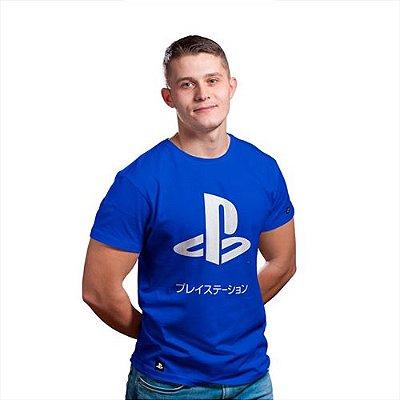 Camiseta Playstation KATAKANA (Produto Licenciado Sony)