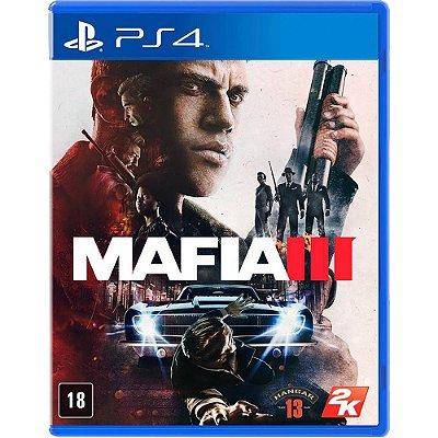 Mafia 3 PS4 MIDIA FISICA