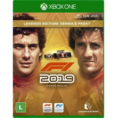 F1 2019 Legends Edition Xbox One MIDIA FISICA