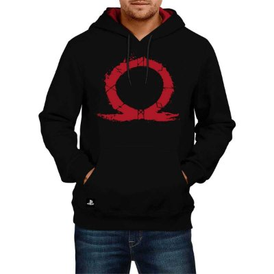 MOLETOM GOD OF WAR OMEGA HOOD (PRODUTO LICENCIADO SONY)