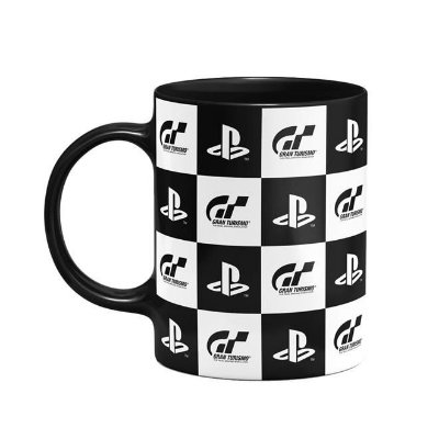 CANECA PLAYSTATION GRAN TURISMO CHECK FLAG