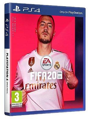 Fifa 20 PS4 em Mídia Física