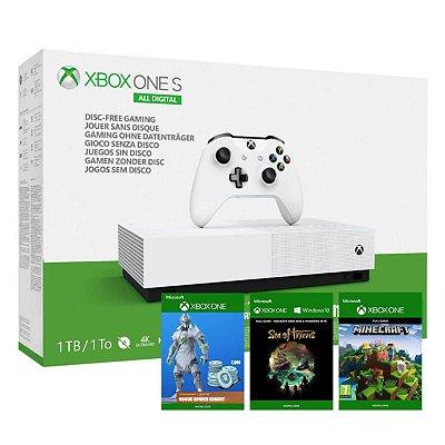 Console Xbox One S 1tb Digital Edition