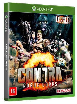 Contra Rogue Corps Xbox One Mídia Física