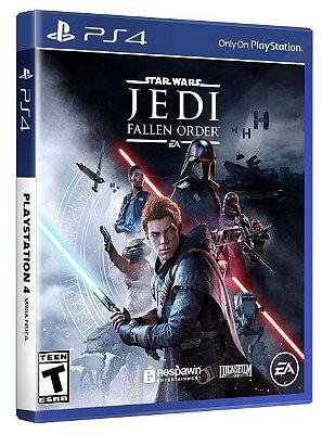 Star Wars Jedi Fallen Order PS4 Mídia Física