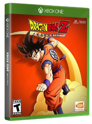 Dragon Ball Z: Kakarot Xbox One Mídia Física