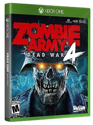 Zombie Army 4: Dead War Xbox One Mídia Fisica