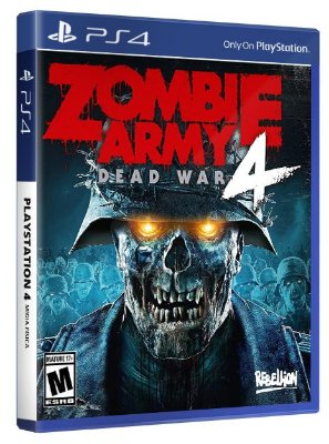 Zombie Army 4: Dead War PS4 Mídia Fisica