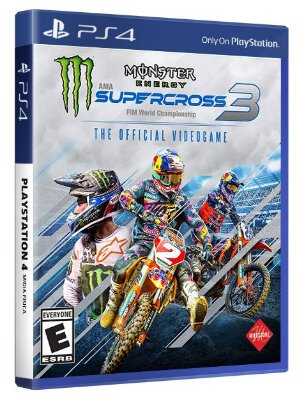 Monster Energy Supercross 3 PS4 Mídia Física