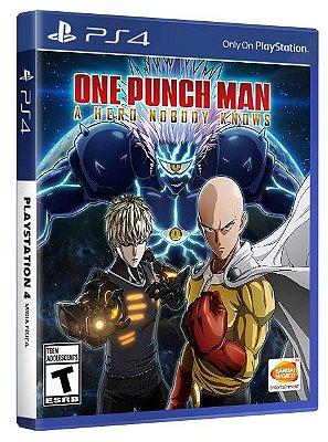 One Punch Man PS4 Mídia Física