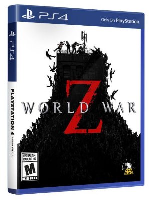 World War Z PS4 Mídia Física